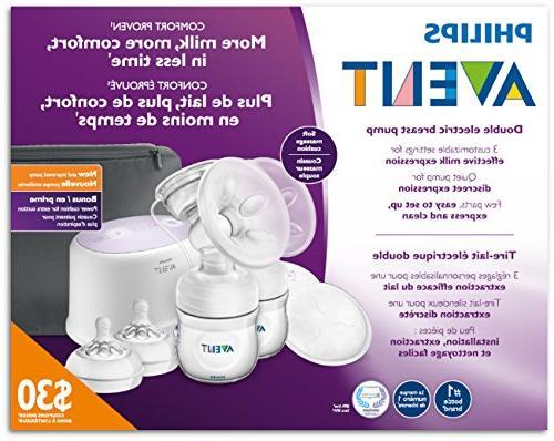 Philips Avent Double Electric Breast Pump Bonus Power Cushion,