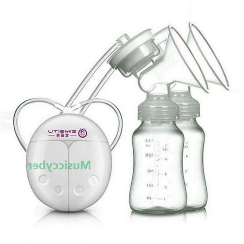 Double Side Electric breast pumps Powerful  USB  Pregnant Wo