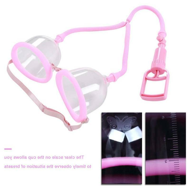 Dual Suction Cup Female Breast Breast