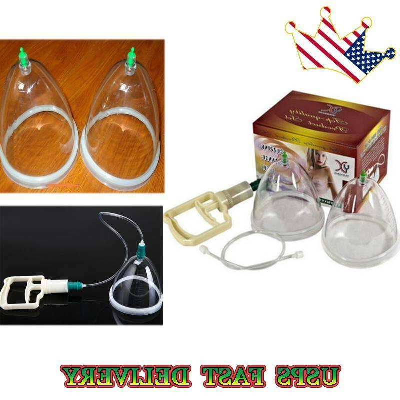 dual suction cup women breast pump enlargement