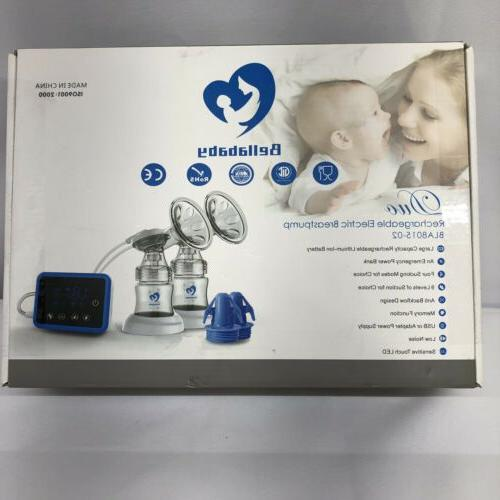 Bellababy BLA8015-02 Double Rechargeable Electric Pump Kit -