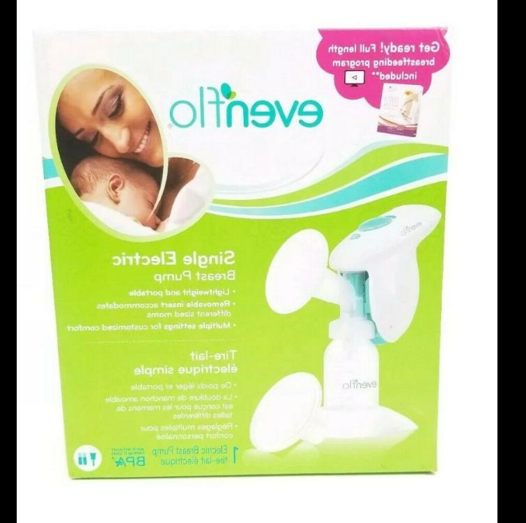 e advanced single electric breast pump lightweight
