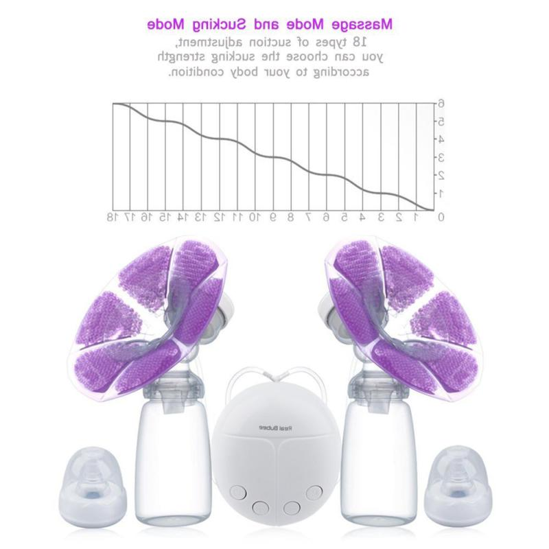 KidsTime Double Pump hands-Free Breastpump with 2