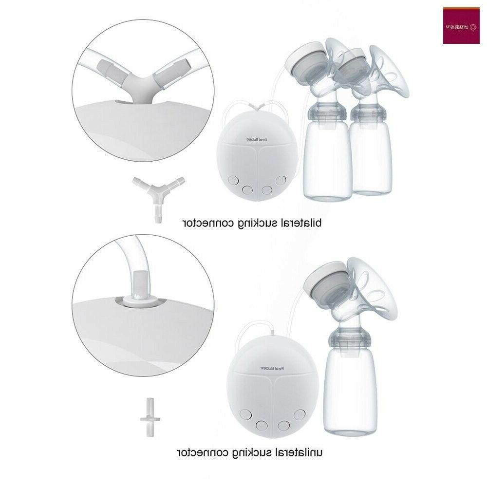 KidsTime Electric Double Breast Pump hands-Free Breastpump(WITH