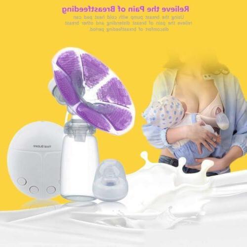 KidsTime Electric Breast Pump Double hands-Free Breastpump 2 Heat