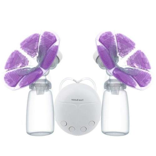 electric breast pump double hands free breastpump