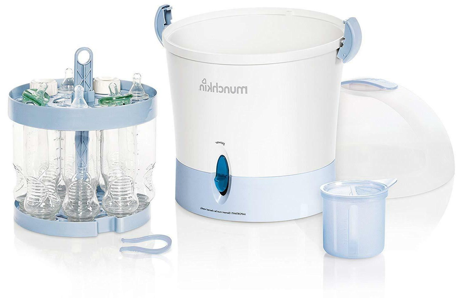 electric steam sterilizer baby bottle cleaner feed