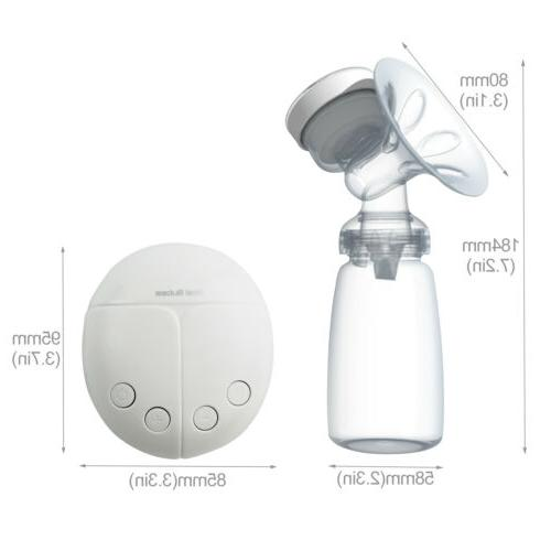Electric USB Pump BPA Microcomputer Bottle