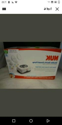 NUK Expressive Double Electric Breast Pump - BRAND NEW !!!