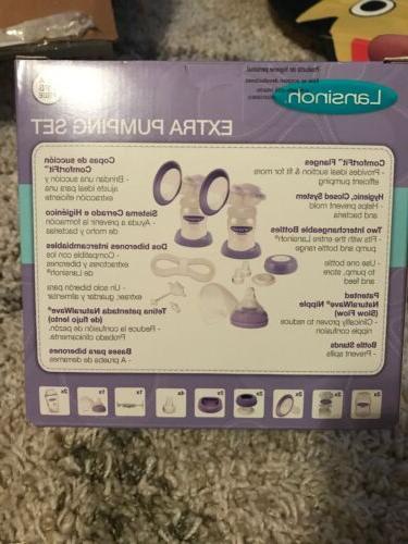 Lansinoh Set, BPA BPS Free