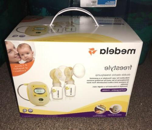 freestyle double electric rechargeable mobile breastpump 670