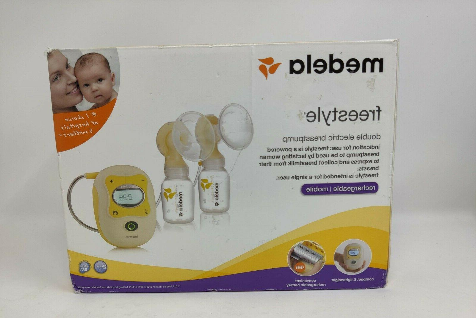 freestyle flex double electric breast pump new