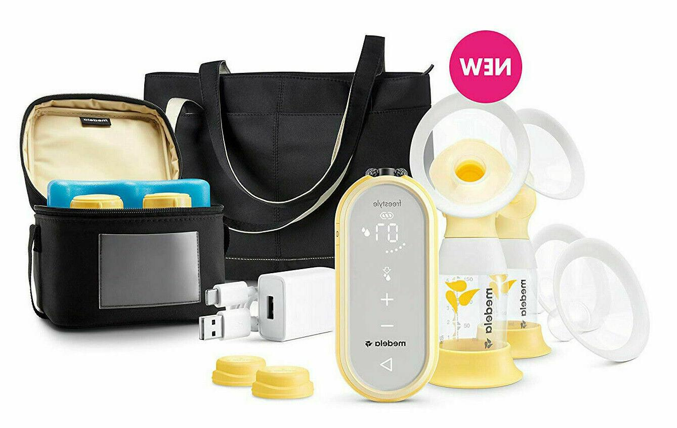 freestyle flex double electric rechargeable breast pump
