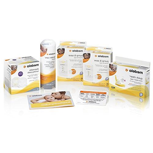 Medela Double Double Solution Compact Lightweight for Easy Mobility and Efficient