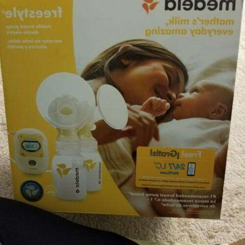 freestyle mobile double electric breast pump 2day