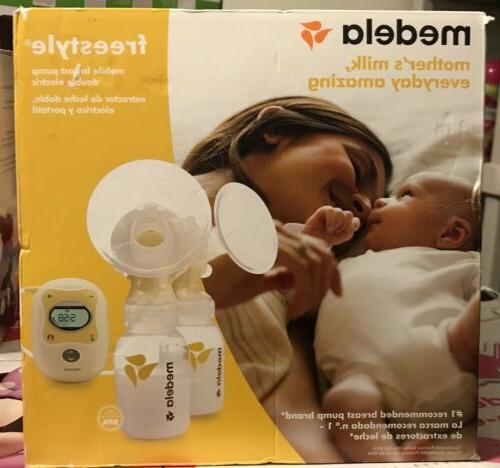freestyle mobile double electric breast pump w