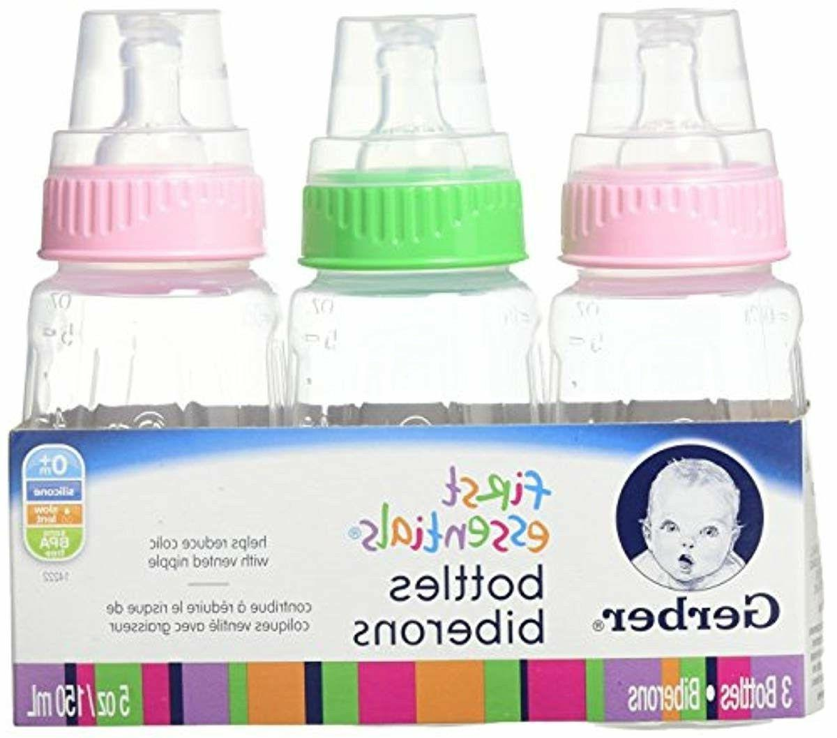 NUK First Essentials Bottle, Girl, Slow 5 Ounce