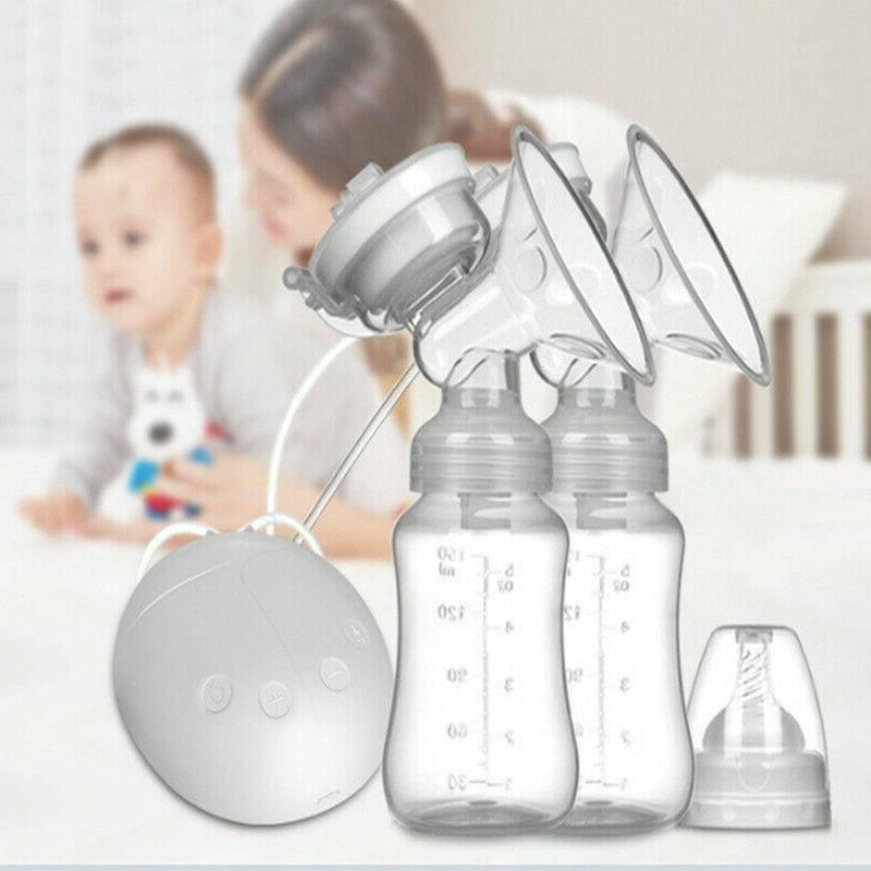 hand free double breastpump usb electric breast