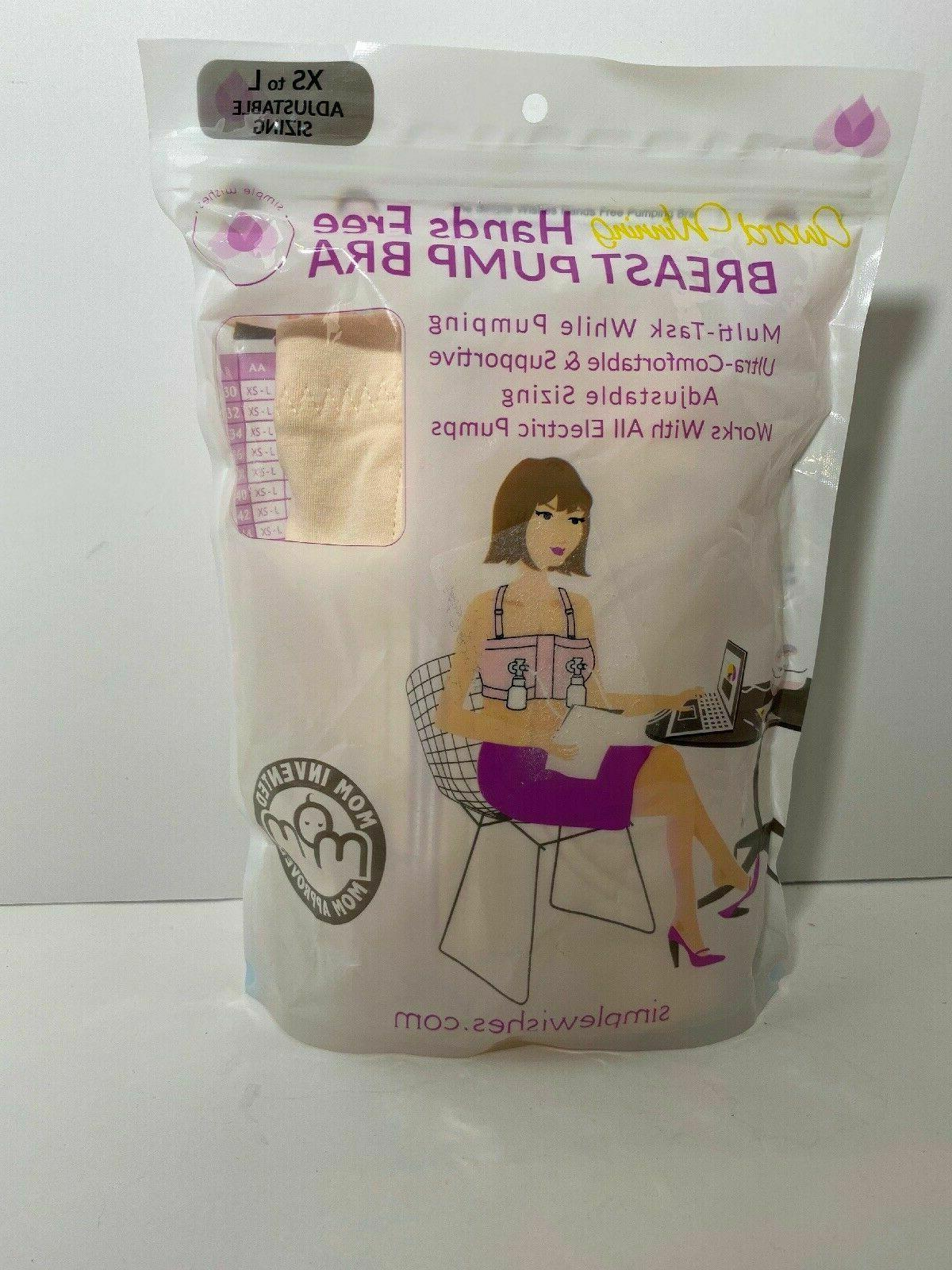 hands free breast pump bra xs to