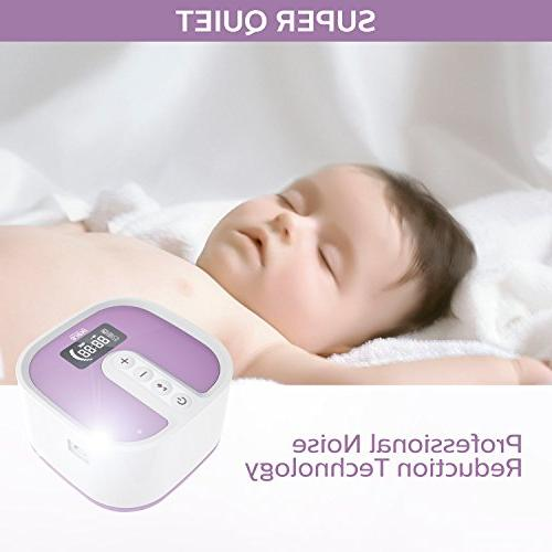 Electric Double Breast by Pump Rechargeable Whisper Quite Motor with 45 Adjustable Intensity Levels