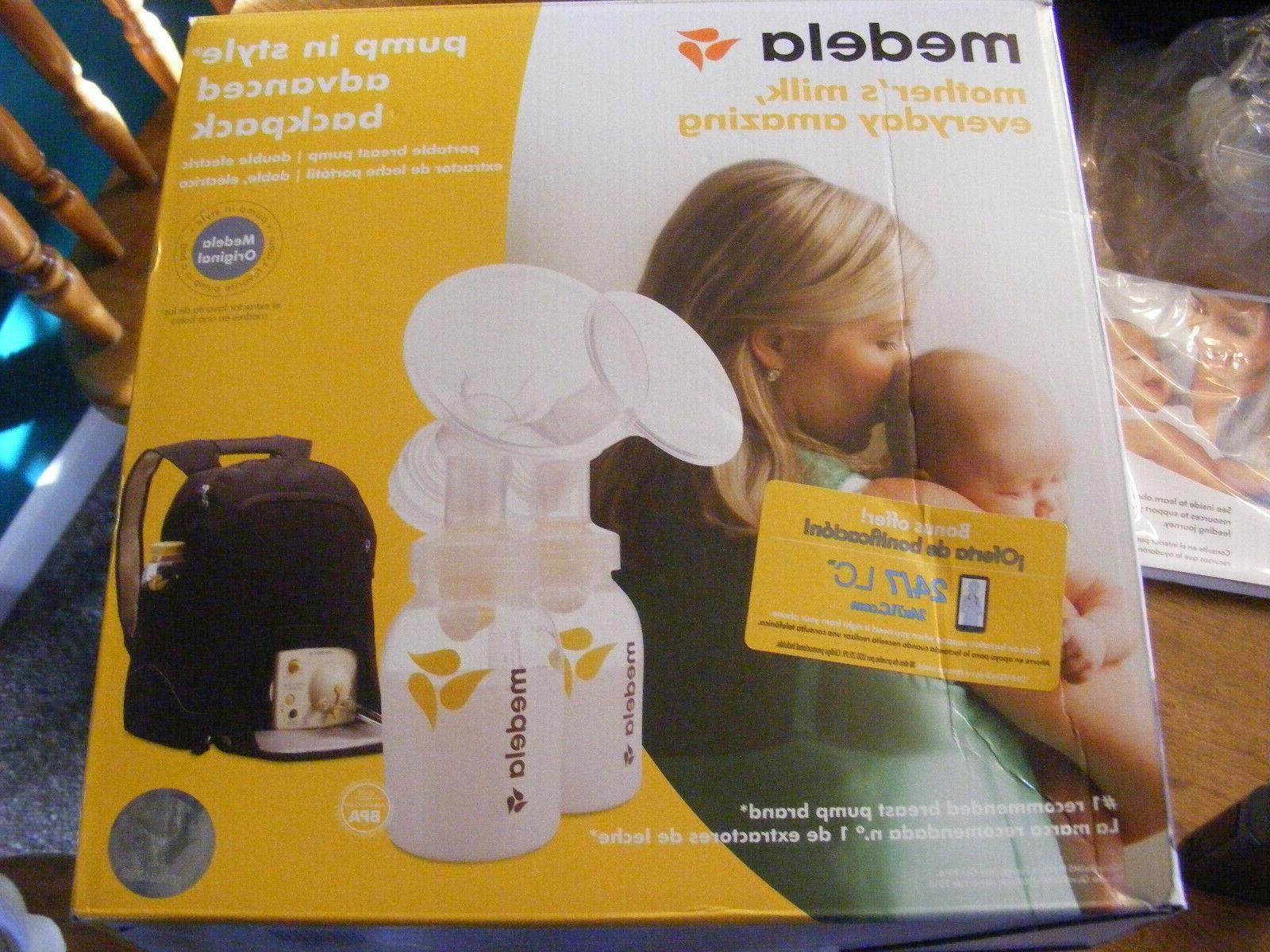 in style advanced double breast pump