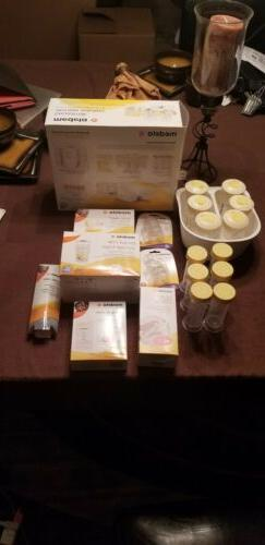 Large Lot Of Medela Breast Pump/Feeding Accessories