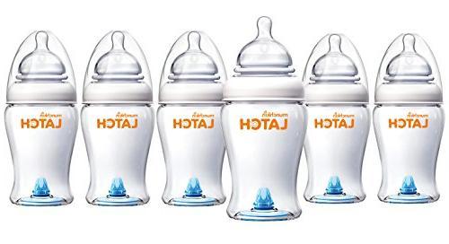 Munchkin LATCH 8oz Bottle BPA Free, 3pk