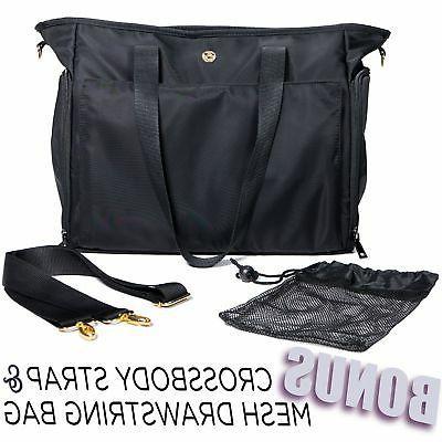 Zohzo Lauren Breast Pump Bag Tote Bag Great or Storage ...
