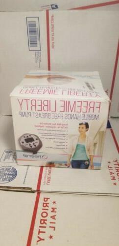 Freemie Liberty Mobile Hands Free Breast Pump, Grey ---READ