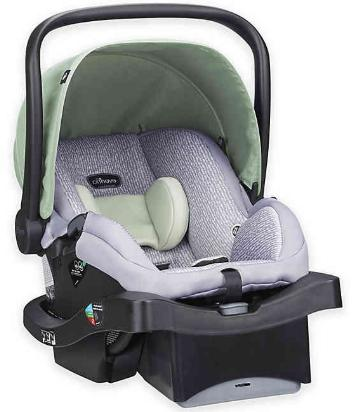 litemax 35 infant car seat in bamboo
