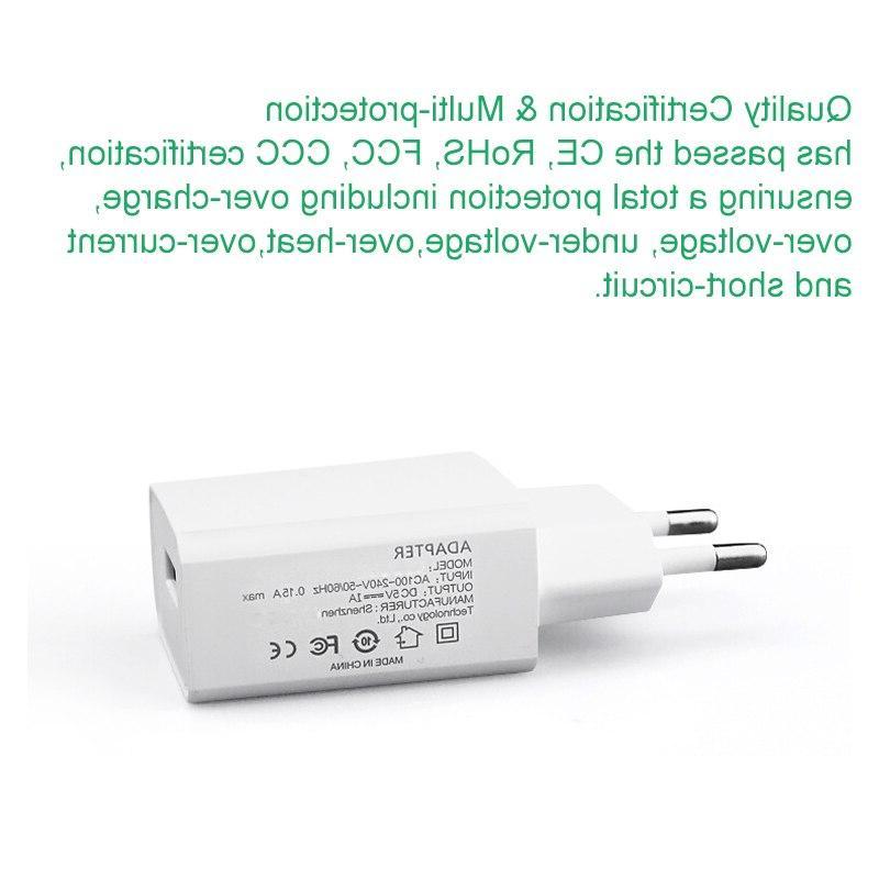 M.uruoi 5V/1A AC <font><b>Travel</b></font> Wall Charging Power Adapter For Electric <font><b>Pump</b></font> Mobile