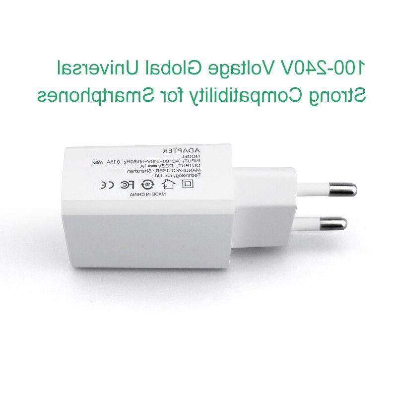 M.uruoi EU 5V/1A AC <font><b>Travel</b></font> Wall Power For Electric <font><b>Breast</b></font> <font><b>Pump</b></font> Mobile Phone