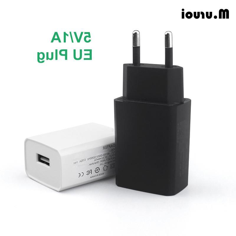 m uruoi eu plug charger 5v 1a