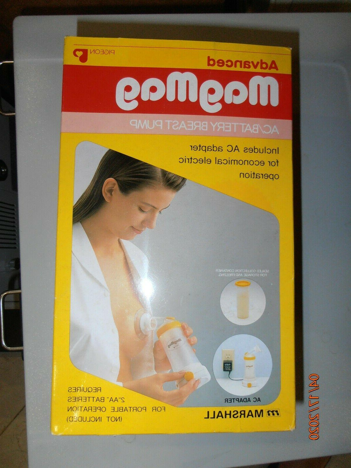 MagMag Advance Breast Pump w/ AC Battery operated.