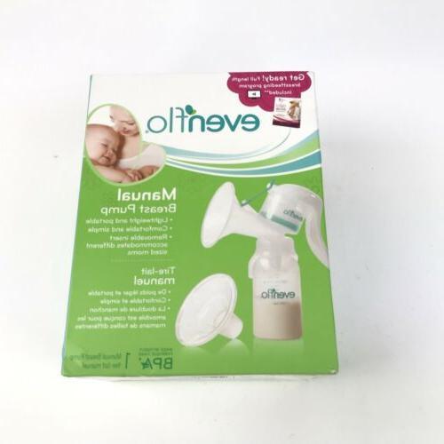manual breast pump bpa free portable