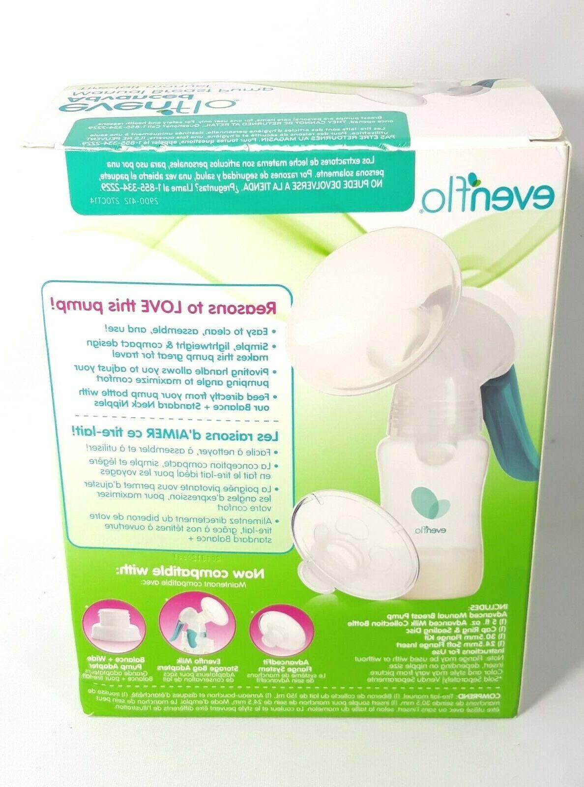 manual breast pump model 4013 new
