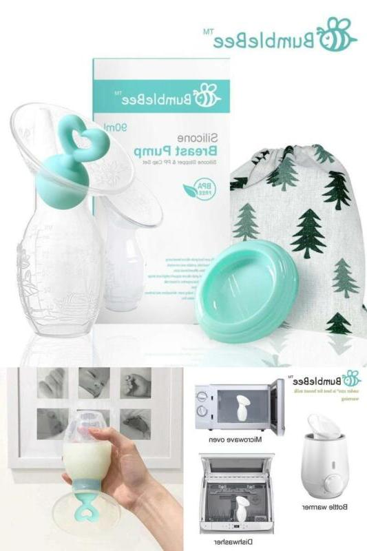 manual silicone breast pump pure natural suction