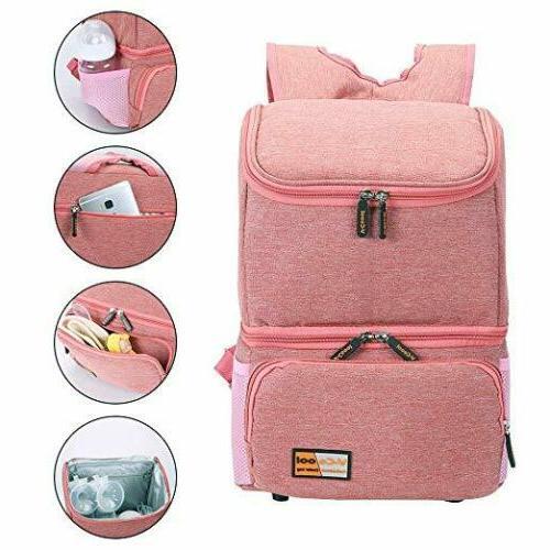 Cooler Backpack Milk Breast Waterproof