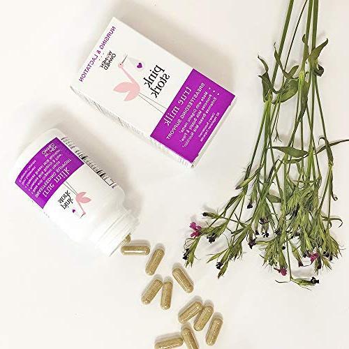Pink Milk: Organic Lactation and Breastfeeding Support Breastmilk & -Enhances Enriches Breastmilk Gassy -Organic Drug Free