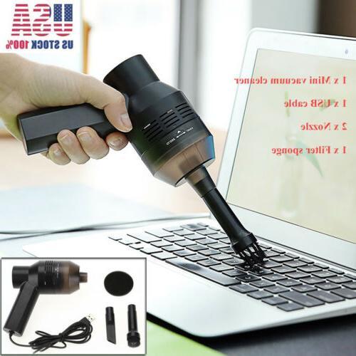 Mini Desk Table Vacuum Cleaner Sweeper PC/Pet/Car