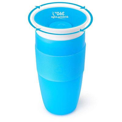 miracle 360 degree sippy cup 410ml blue