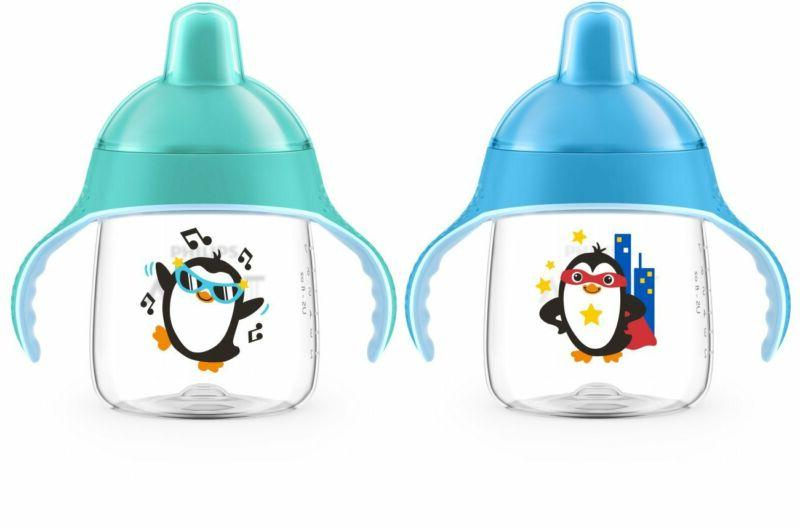 Philips My Penguin Sippy Cup 9oz, and Green, SCF753/25