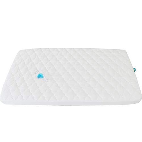 "Pack N Play Waterproof Baby Crib Mattress Pad - 39"" x 27"" Fi"