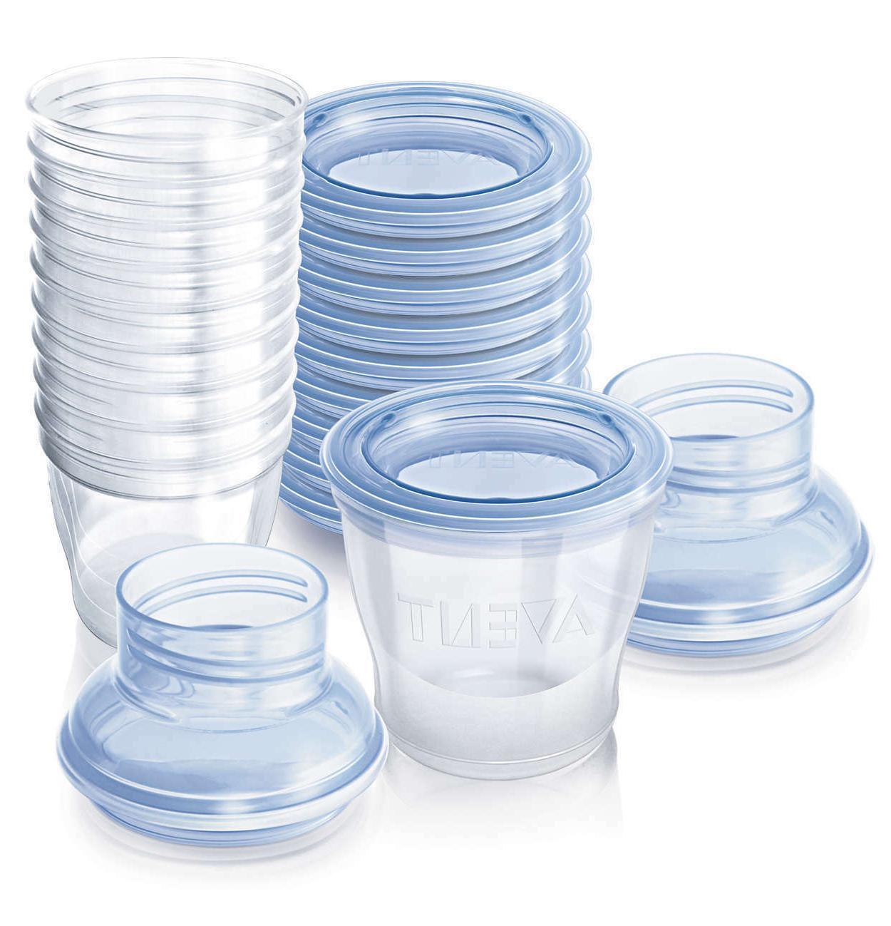naturally pre sterilized disposable milk storage kit