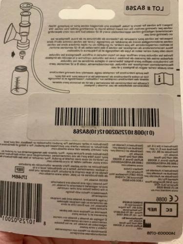 NEW Ameda 2 Pack Breast BPA Free
