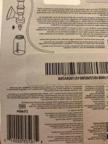 NEW Ameda 2 Pack Breast Pump Valves Clear BPA