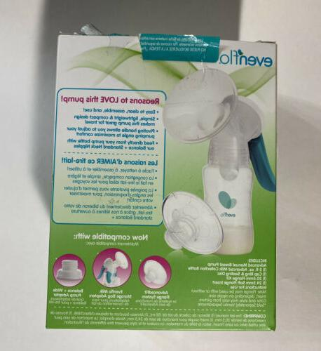 NEW And Advanced Portable Manual.Breast Pump, New Free