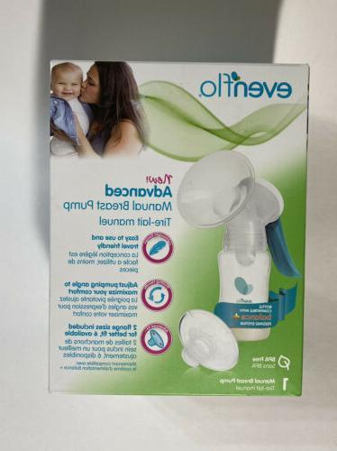 new and advanced portable manual breast pump
