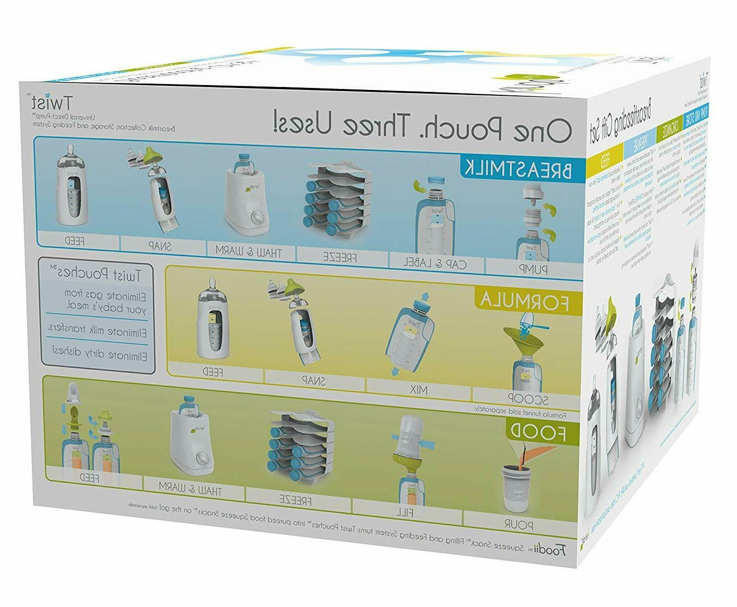 New Storage Twist Gift Breastfeeding