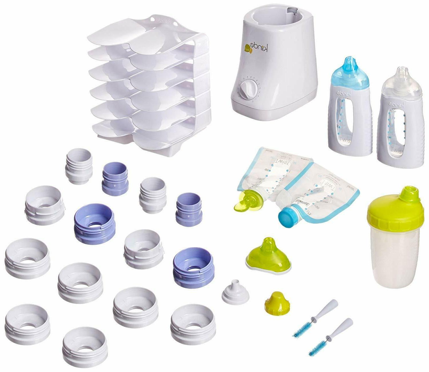 new breast milk storage twist gift set